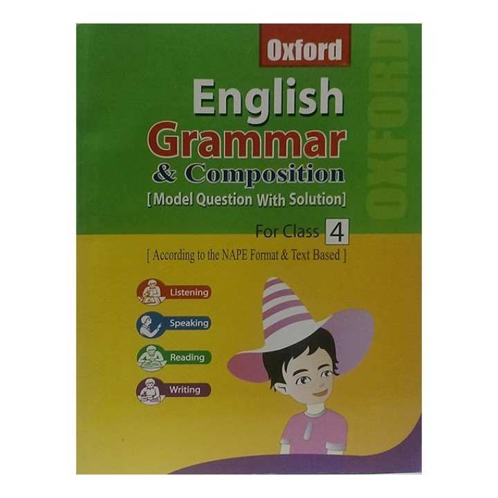 Oxford English Grammar and Composition [ Model Question With Solution] For Class - 4