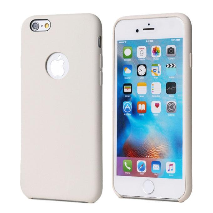Remax Kellen Series Silicone Phone Case for Iphone 6s plus - White