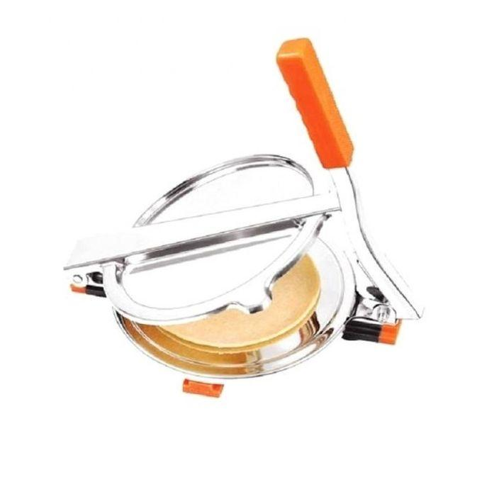 Stainless Steel Roti Maker - Silver