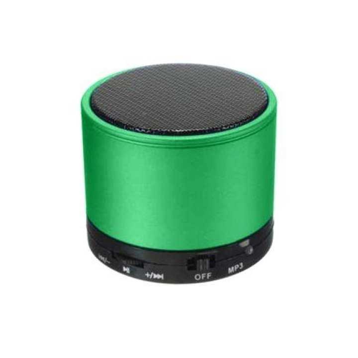 Max Mini LED Lighting Travel Speaker - Green