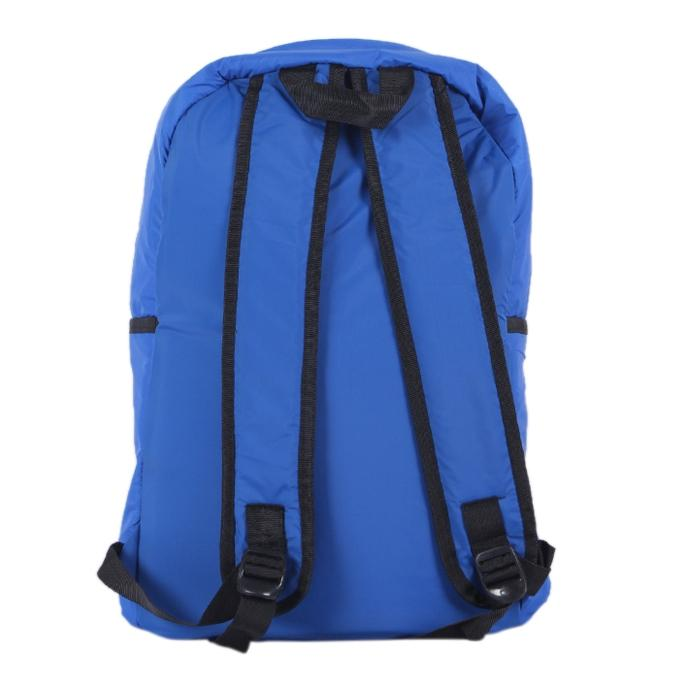 Polyester Backpack For Boys - Blue and Yellow