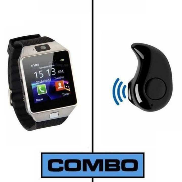 9200 Bluetooth Headset and G11 Single Sim Smart Watch Combo