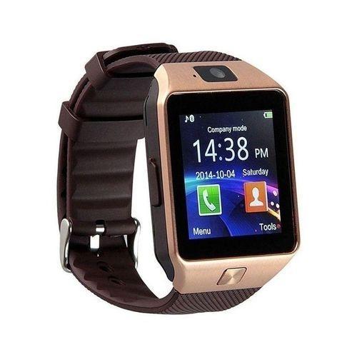 Sim Supported Smart Watch - Golden