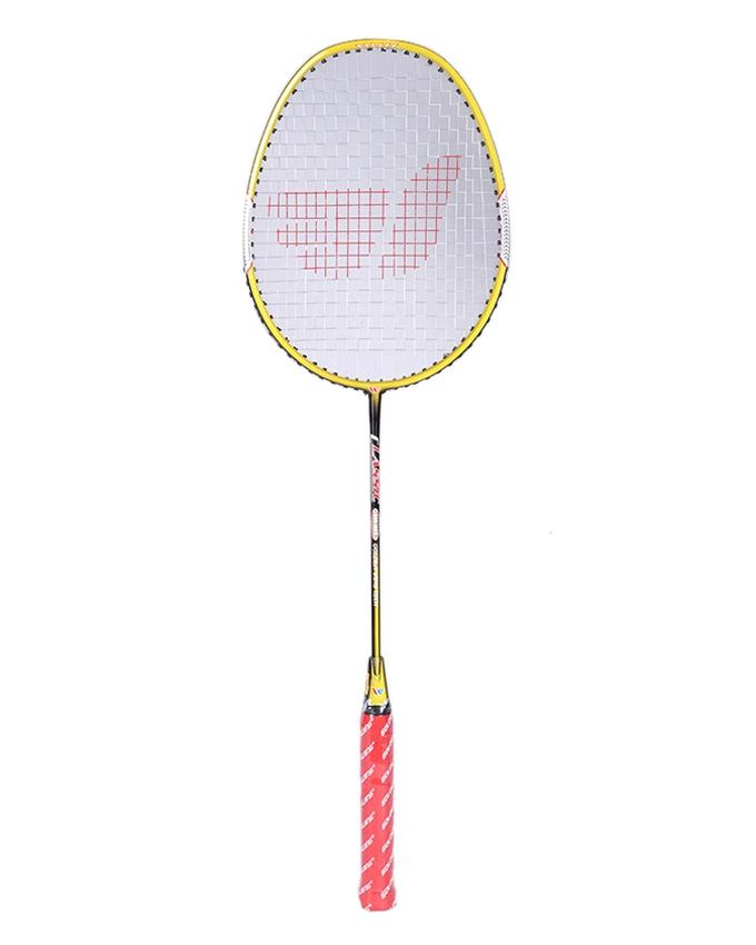 Badminton Racket - Yellow