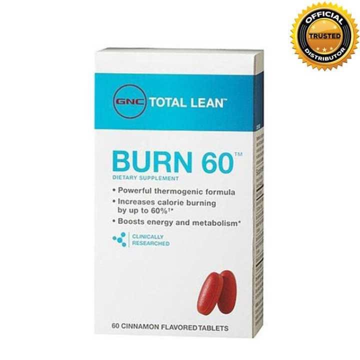 Total Lean™ Burn 60™ - Cinnamon Flavored - 60 tablets