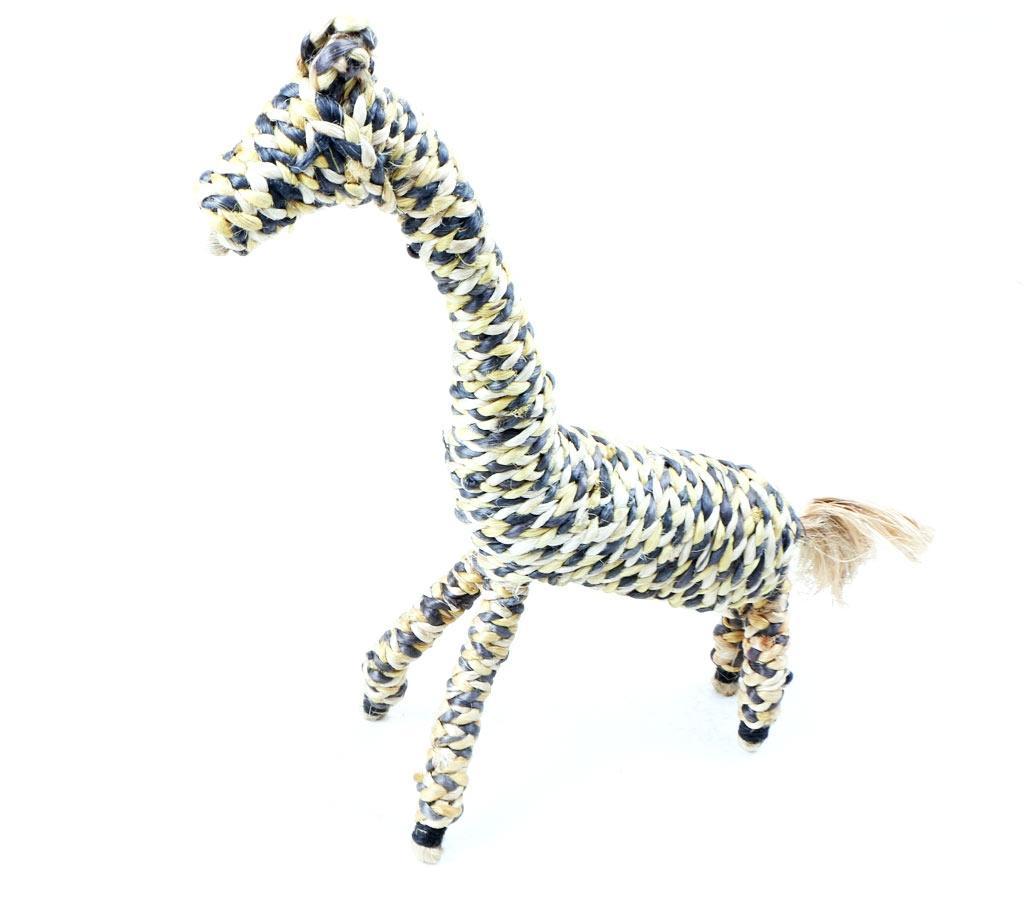 Eco Friendly Giraffe Showpiece - Multi-Color