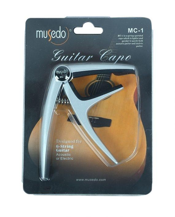 Musedo Guitar Capo - Black