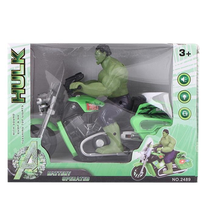 Hulk Battery Operated Motorcycle - Green