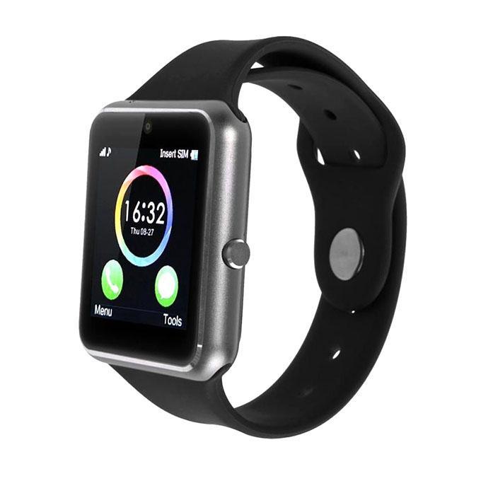 Q7S Single SIM Smartwatch - Black