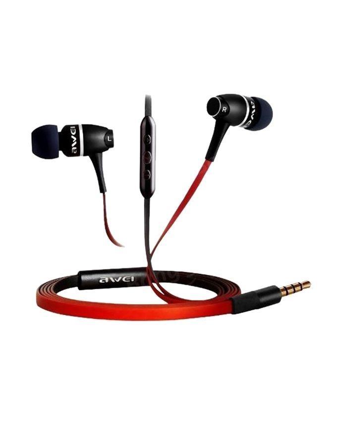 S80V1 Metal HiFi  In-Ear Super Bass - Black