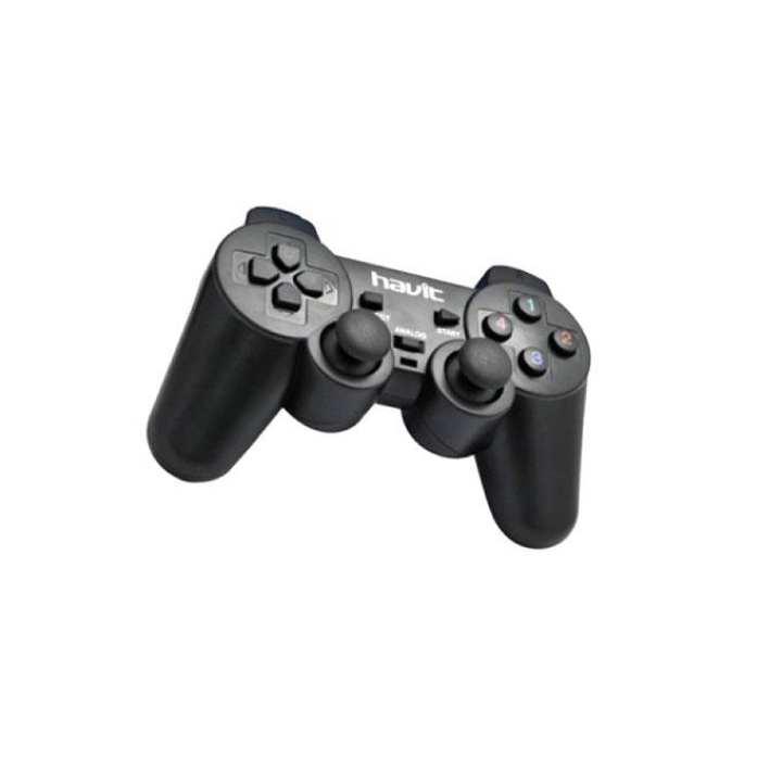 HV-G69 USB Game Pad with Vibration - Black