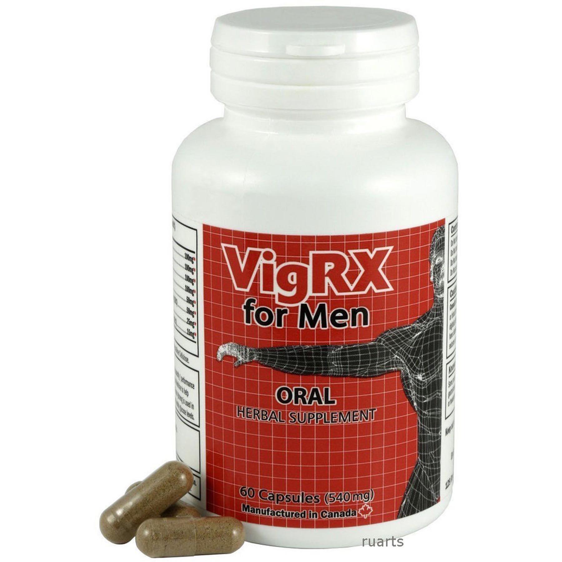 VigRX Plus Male Enhancement Penis Enlargement Pills - B-1047