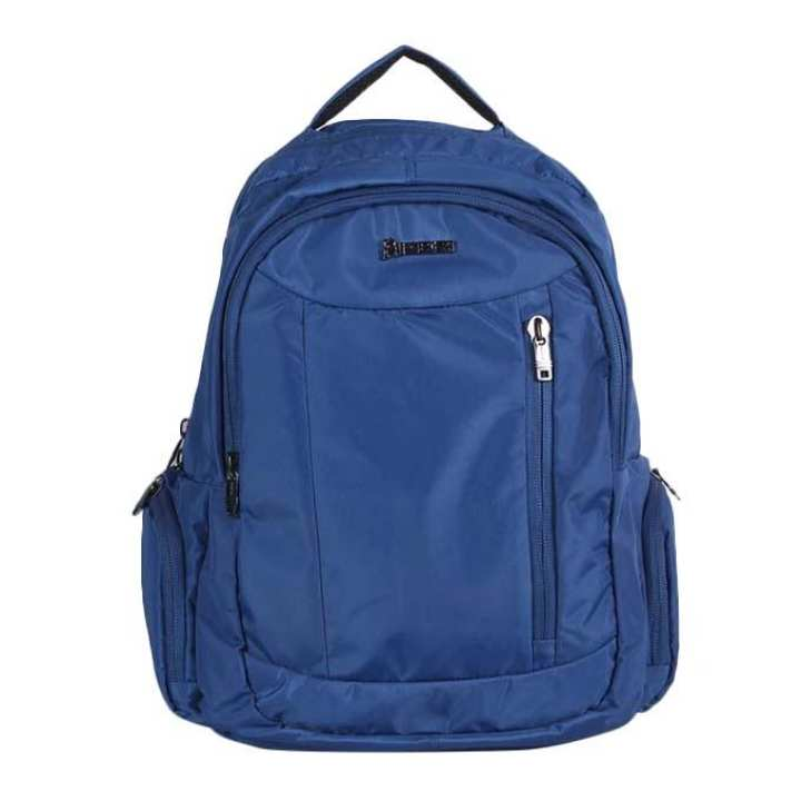 Polyester Backpack For Men - Blue