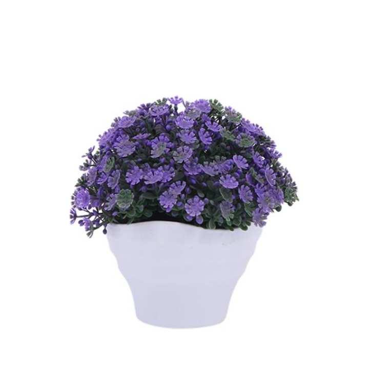 Plastic Flower - Purple