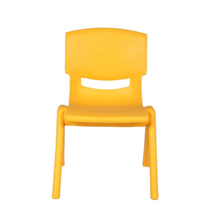 Yellow Plastic Chair For Kids