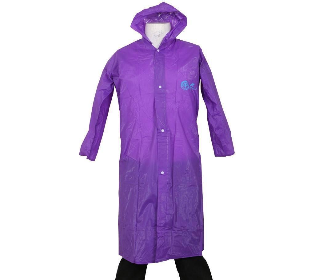 be5bf2e0f Polyester Rain Coat - Purple