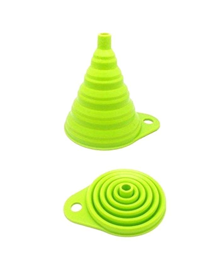Portable Retractable Funnel - Green