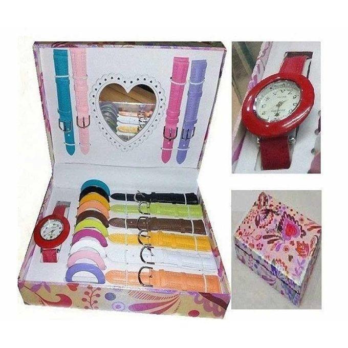 11 In 1 Changeable Dial Women's Watch RA0051