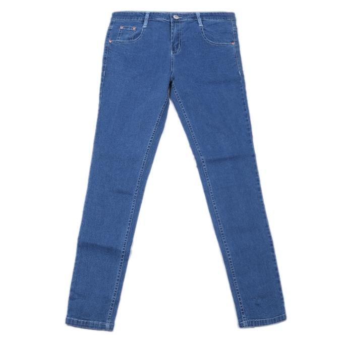 Midnight Blue Denim Casual Jeans For Girls
