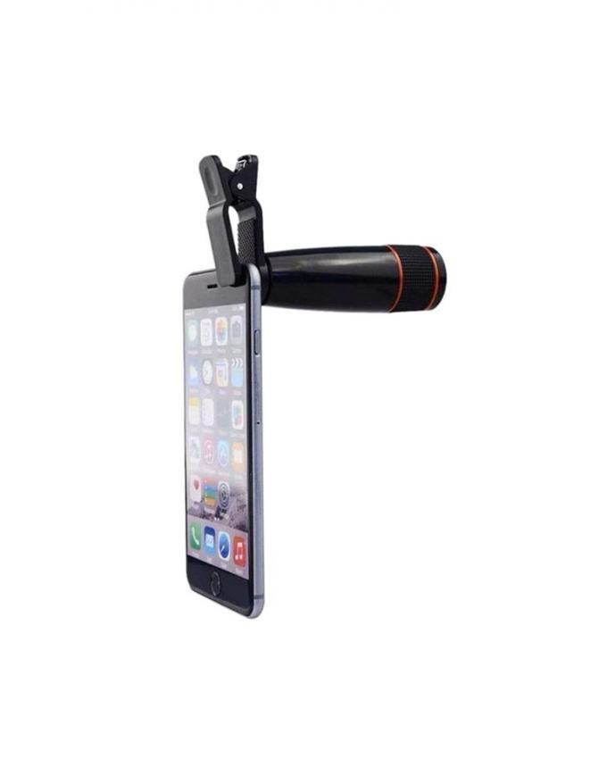 Mobile Phone Zoom Lens - Black