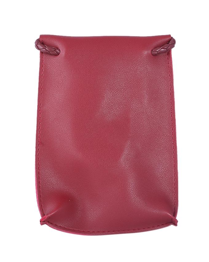 Stylish Polyester Side Bag For Women - Red