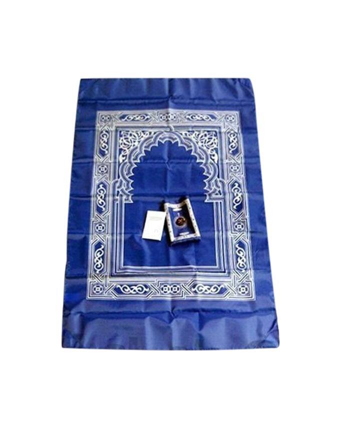 Portable Digital Pocket Janamaz - Blue