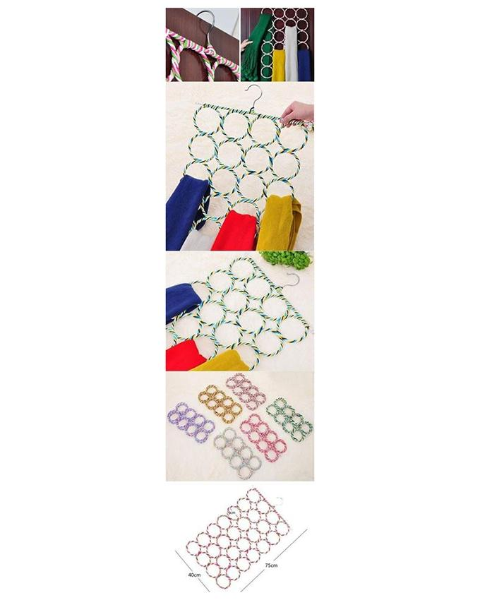 Multi-color Cotton Hijab Hanger  For Women
