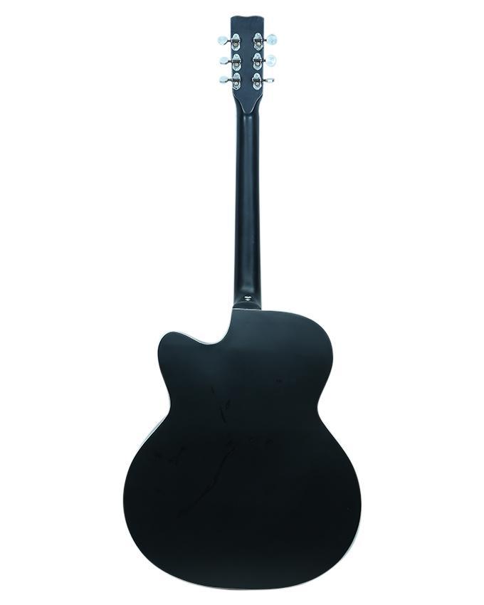 Black Venus Super Indian Acoustic Guitar