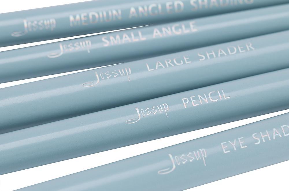 T097 8 PCs Essential Series Brush Set - Light Blue