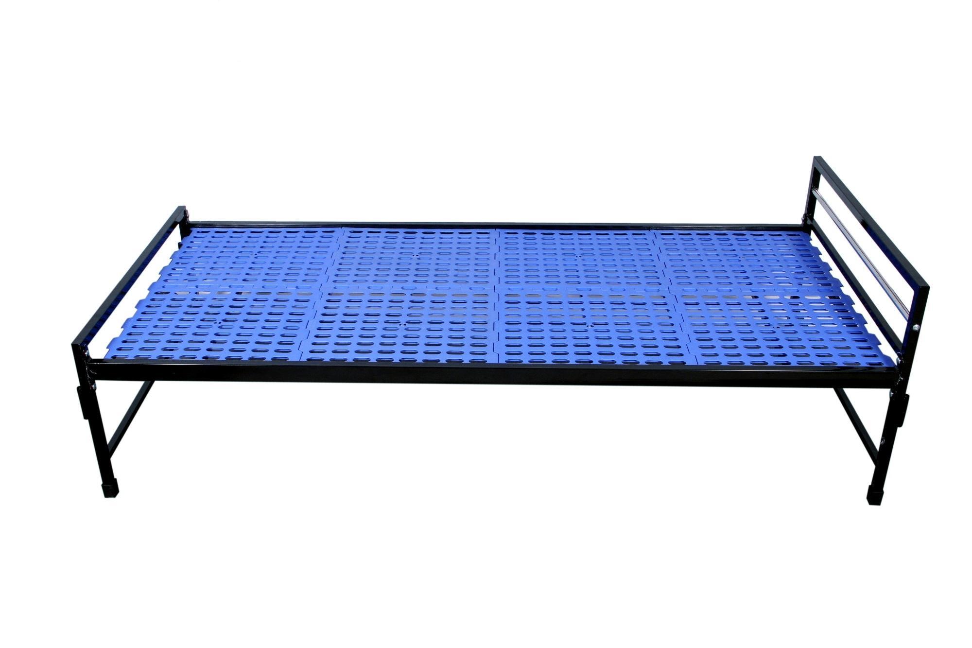 Steel Bed  Series - Bed Single - Blue BE-01