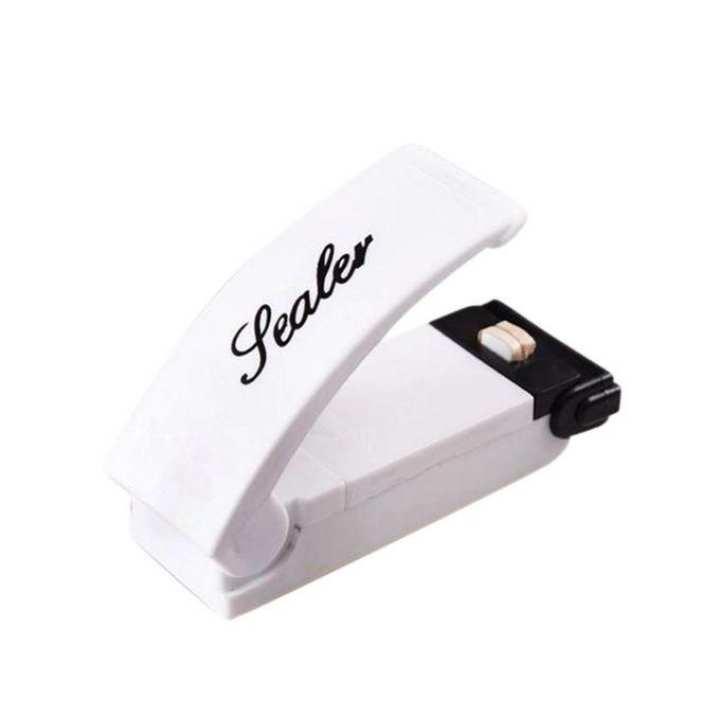 Mini Packet Sealer - White and Black