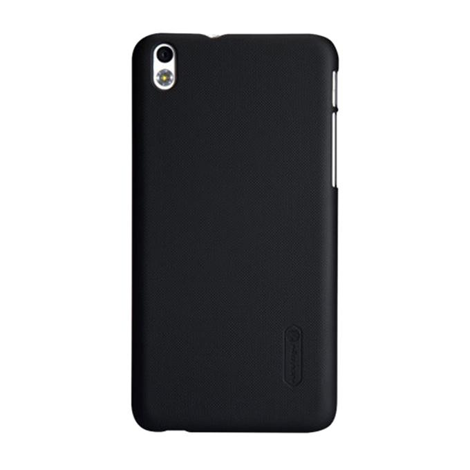Super Frosted Shield Back Cover for HTC Desire 816 - Black