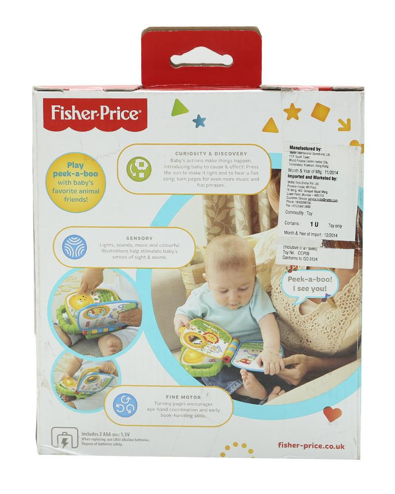 Fisher-Price Peek-boo Pals - Multicolor