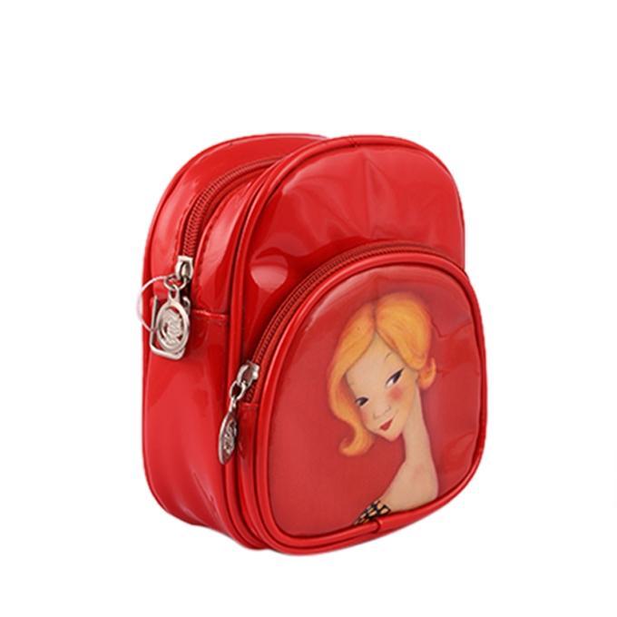 Red School Bag For Kids
