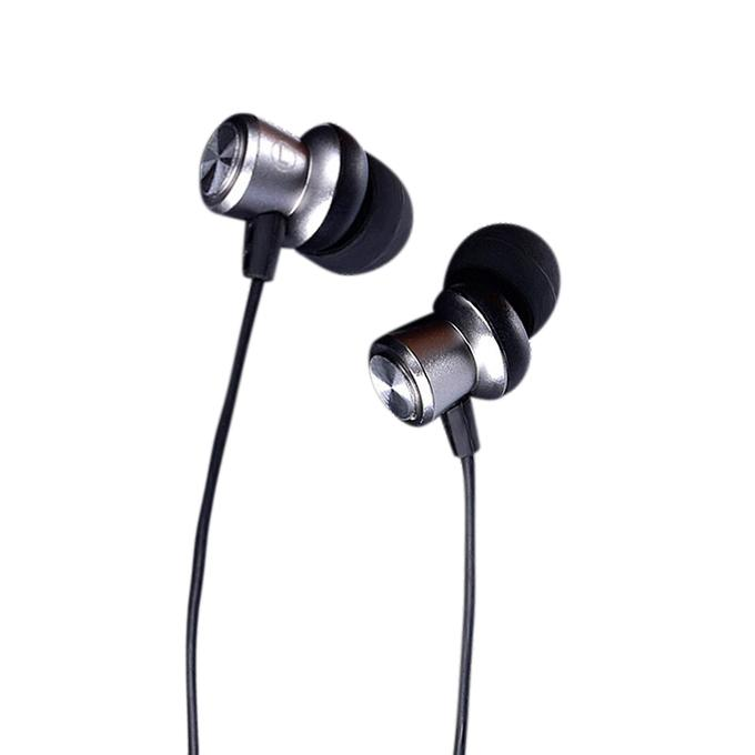 EP-10 Black 10 3.5mm High Fidelity Aluminum Alloy In-ear Earphone for iPhone Samsung