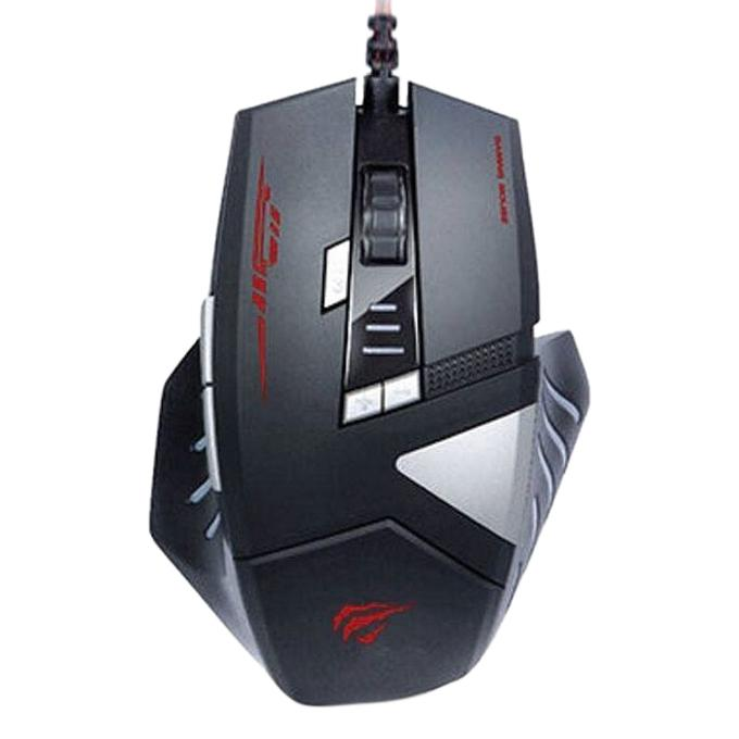Wired Programmable Gaming Mouse MS798 - Black