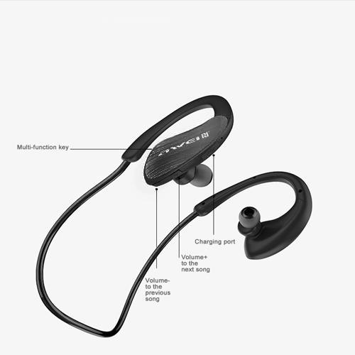A885BL - Bluetooth Headset - Black