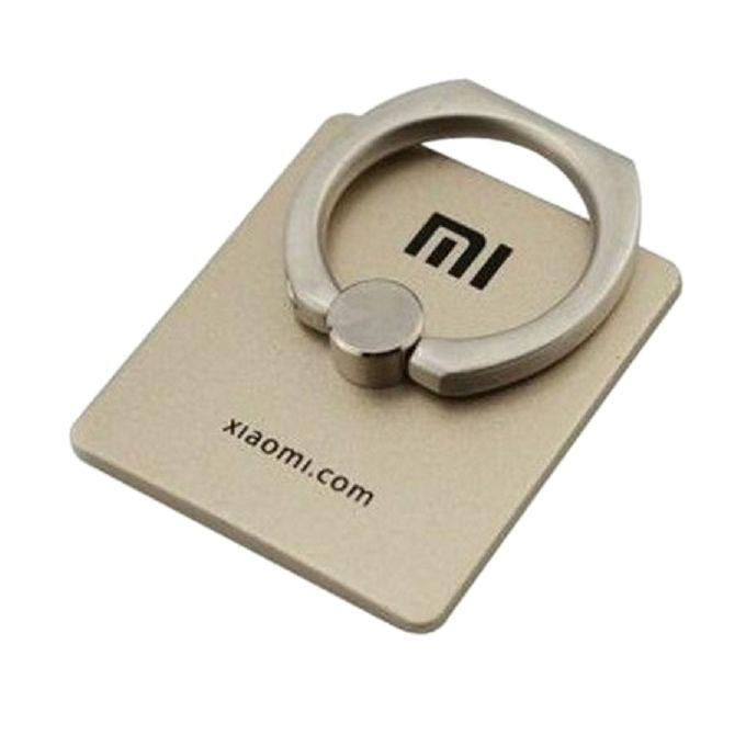 Mi Mobile Back Ring Holder and Stand Fully Metal - Golden