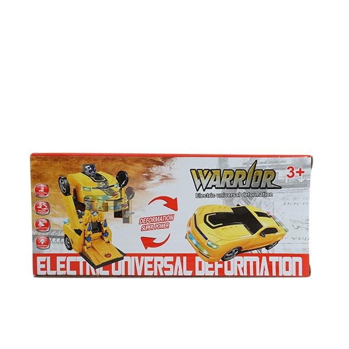 2 in1 Robot Car - Yellow