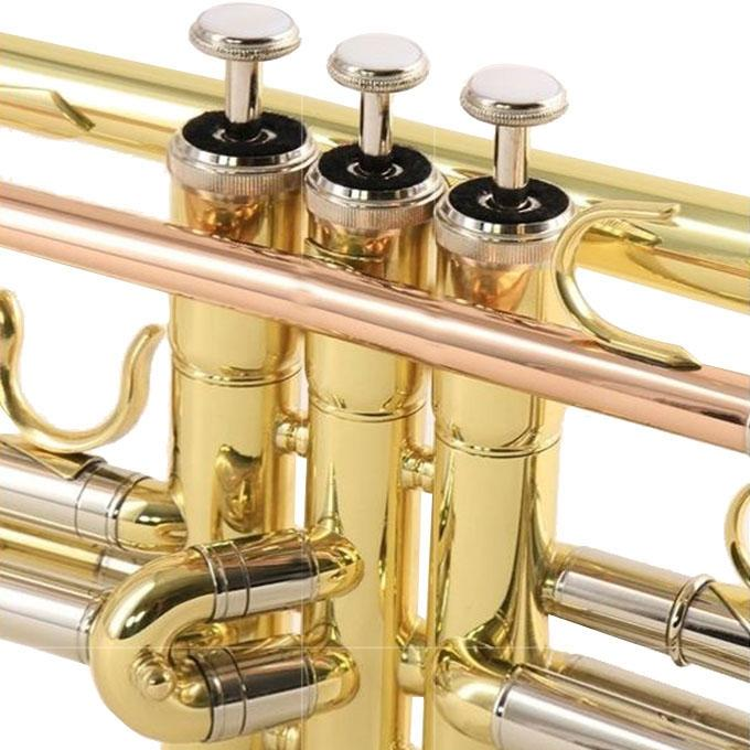Trumpet With Deluxe Convertible Case - Golden
