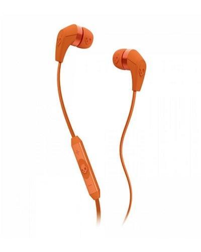 Skullcandy 50/50 2.0 In-Ear Headphones with Mic - Orange