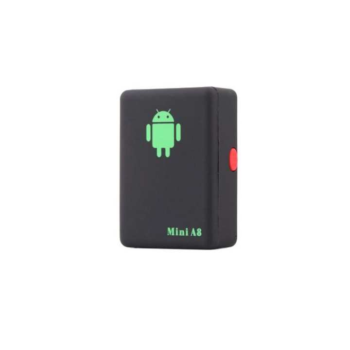 A8 Mini Global Real Time GPS Tracker - Black