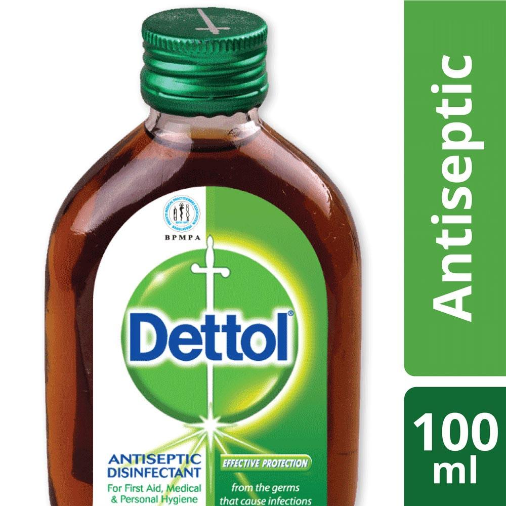Dettolnpoly Buy At Best Price In Bangladesh Www Dettol Antiseptik Cair 100ml Antiseptic Liquid Brown