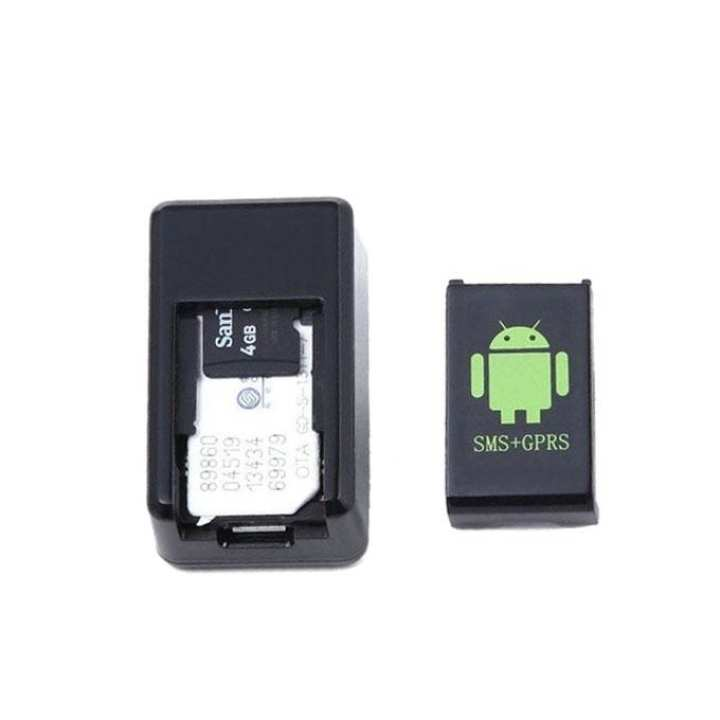 3-in-1 GPS Tracker Audio Listening Bug - Black
