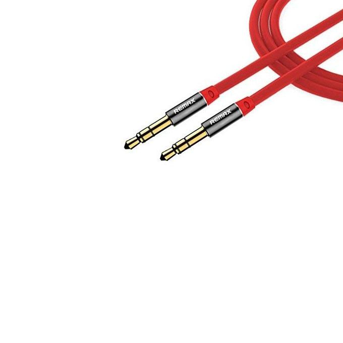 RL-L100 3.5mm Audio Cable Male to Male 1m - Red