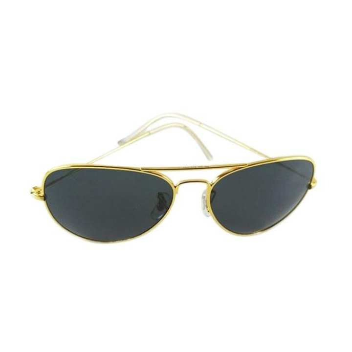 Black Metal Frame UV Protection Sunglasses For Men