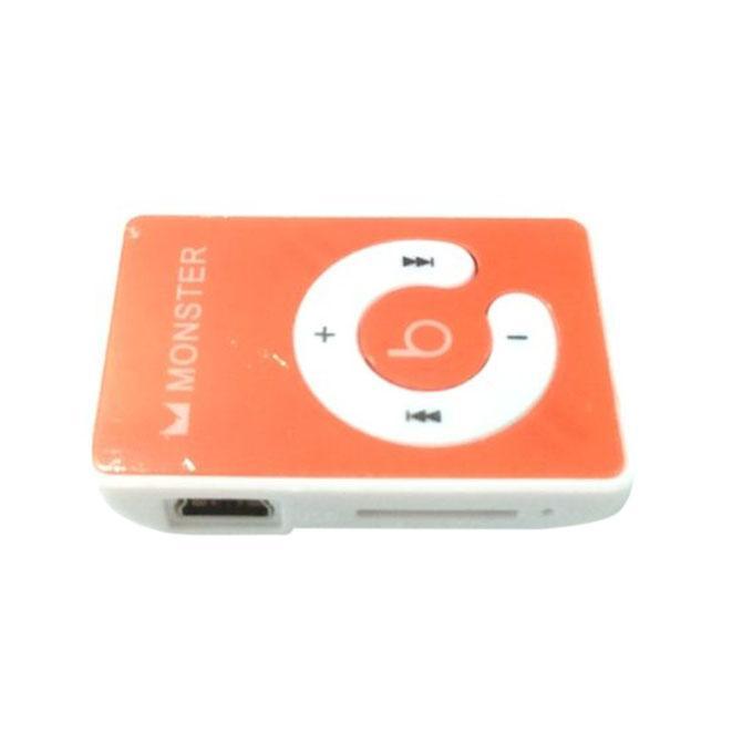 Mini Mp3 Player - Monster Design -  Multi Color
