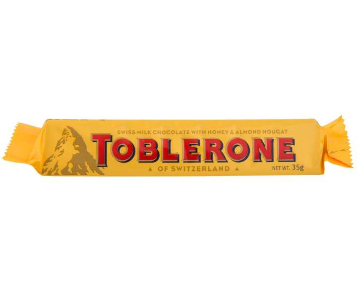 Toblerone Milk Chocolate Bar - 35g