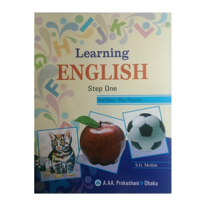Learning English Step One for Class Play or Nursery