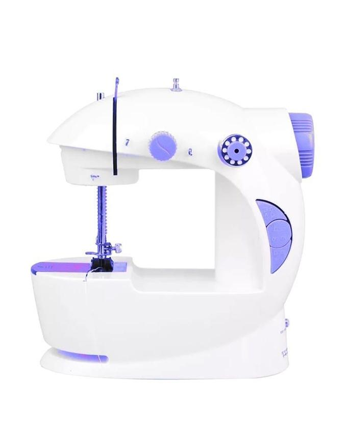 4 In 1 Electronic Sewing Machine - White